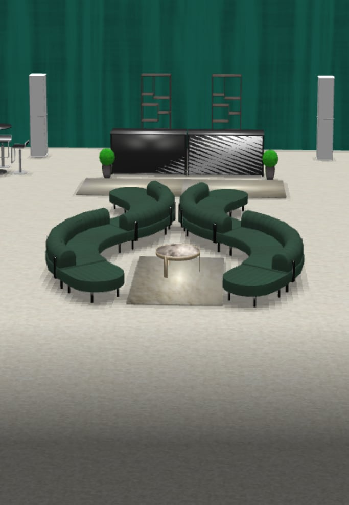3d rendering of event