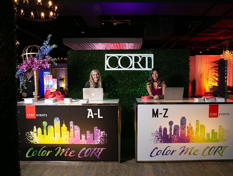 Headshots of CORT Events Team members