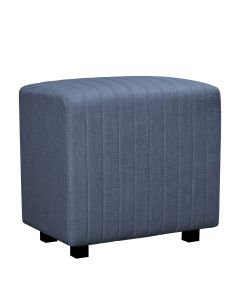 Beverly Seat Back, Ocean Blue Fabric