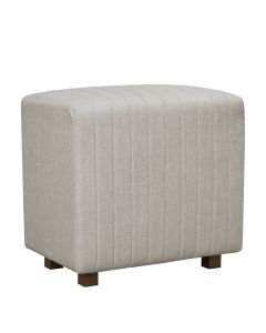 Beverly Seat Back, Gray Fabric