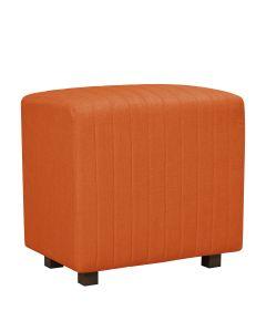 Beverly Seat Back, Orange Fabric