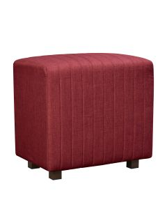 Beverly Seat Back, Red Fabric