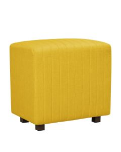 Beverly Seat Back, Yellow Fabric
