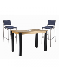 GS - Gray Malba Chair Cafe Set