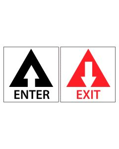 Enter/Exit Decal Set