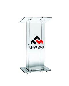 Acrylic Podium Logo