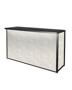 Maxim Wet Bar, LED Lighted, White Marble