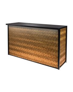Maxim Dry Bar, LED Lighted, Rose Gold Wave