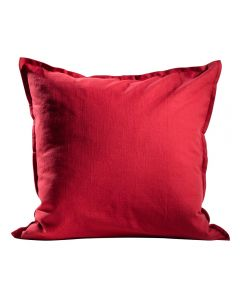 Solid Pillow, Fiesta Red