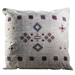 pillow with graphic print