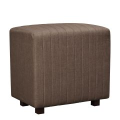 Beverly Seat Back, Brown Fabric