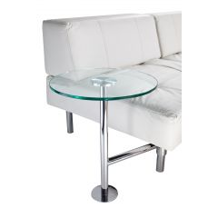 Endless Round Table, Glass