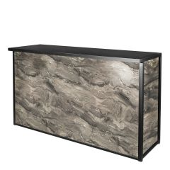 Maxim Dry Bar, Gray Marble