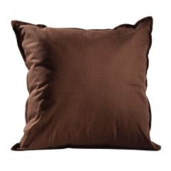 Solid Pillow, Earth Brown