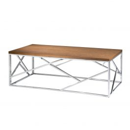 Alondra Cocktail Table, Brandy Maple Top
