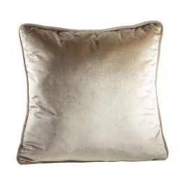 Champagne Velvet Pillow