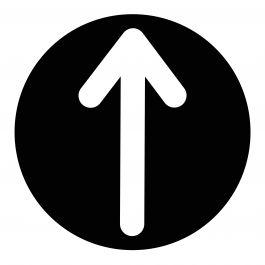 Arrow Decal, Straight