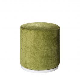 Marche Swivel Ottoman, Meadow Green