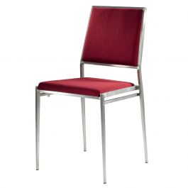 Marina Chair, Red Fabric