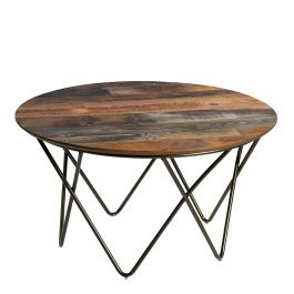 Mesa Cocktail Table, Barnwood Top
