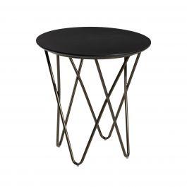 Mesa End Table, Black Top