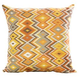 Zig Zag Pillow, Orange