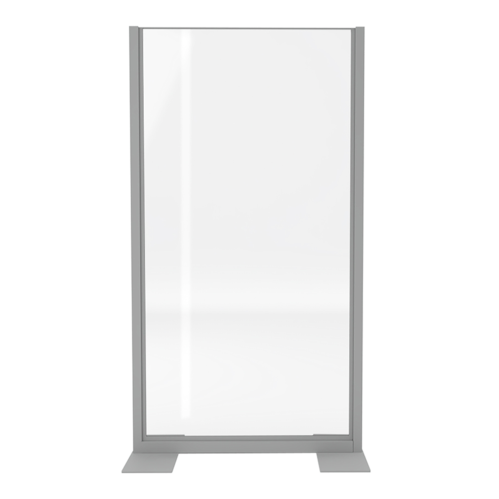 Clear freestanding divider for rent