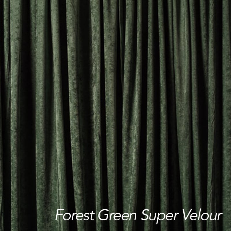 Forest Green Super Velour
