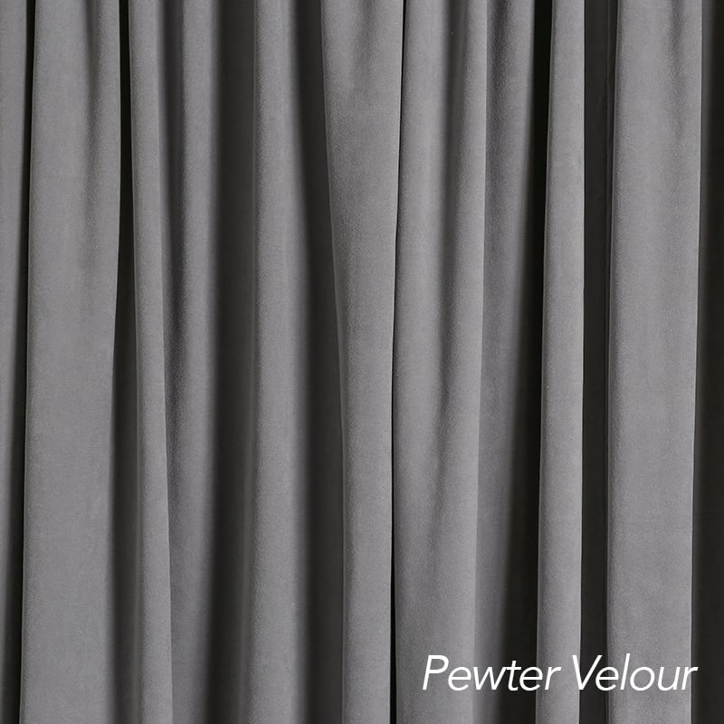 Pewter Velour
