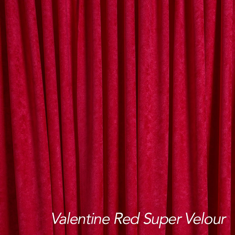 red drape color swatch
