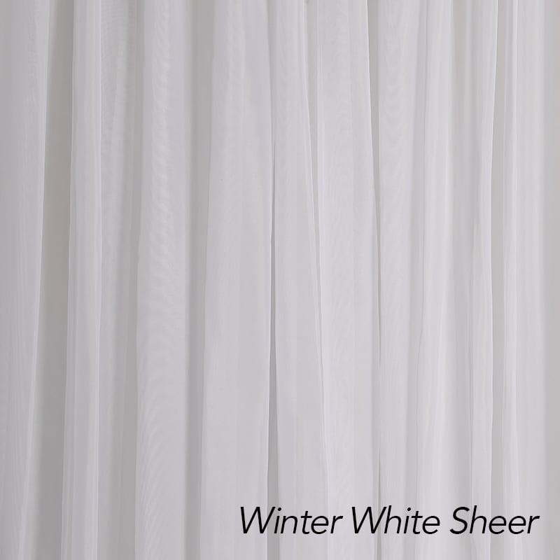 Winter White Sheer